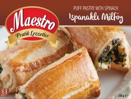 Puff Pastry with Spinach