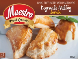 Jumbo Puff Pastry with Minced Meat